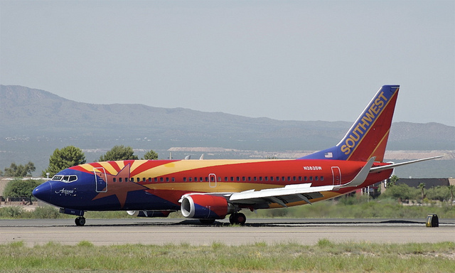 Southwest AIrlines Boeing 737.